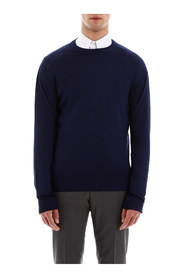 Pullover with pegaso embroidery