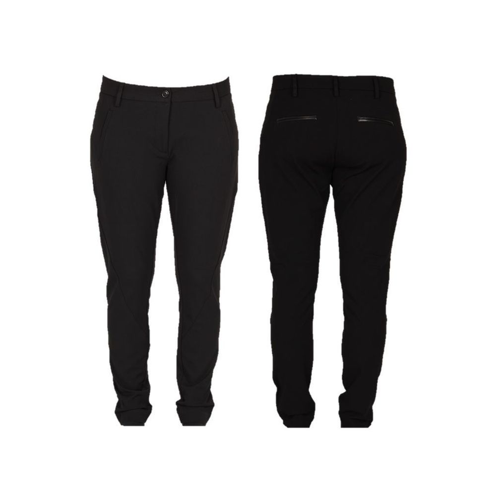 stretch pant black isay
