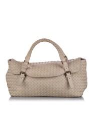 pre-owned  Intrecciato Leather Handbag Bag