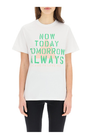now today print t-shirt