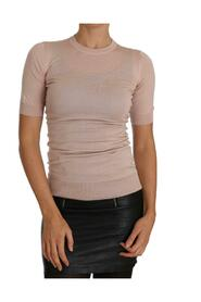 Cashmere Short Sleeved Knit Top
