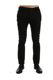 Slim Fit Cotton Stretch Pants