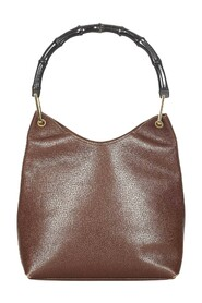 Pre-owned Bamboo Leather Shoulder Bag