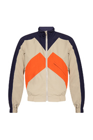 Track jacket with logo