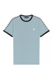 Authentic Taped Ringer Tee Chalk