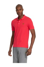 Plain Polo Shirt Geranium