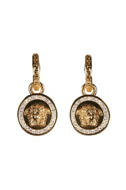 PENDANT EARRINGS WITH GREEK AND MEDUSA