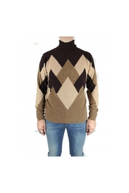 Camel choco turtleneck sweater