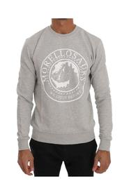 Cotton Crewneck Pullover Sweater