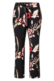 Trousers with Floral Print