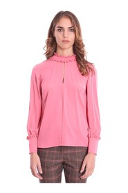 BLOUSE WITH ROUCHES