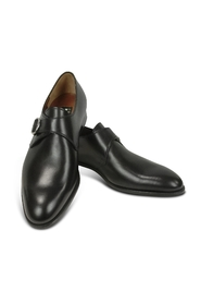 Calf Leather Monk Strap Shoes