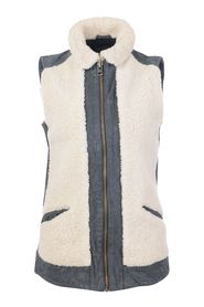 Shearling Vest -Pre Owned Condition Very Good UK8