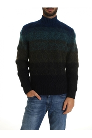 Wool Turtleneck MUN00180 BK00B5 S708Z