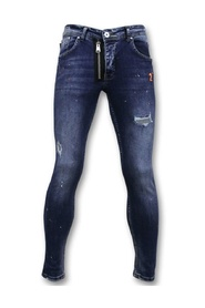 Cool Jeans with Paint Drops