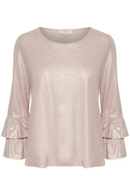 Cream Penelope Blouse Rose Smoke