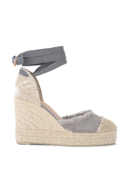 Sandal with Catalina wedge in canvas