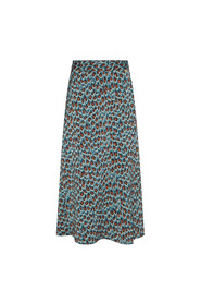 claire skirt  peacock