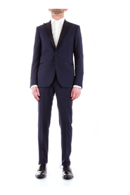 CORNELIANI 837Z57-9167428 DRESS Men BLUE