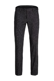 Suit trousers Animal print