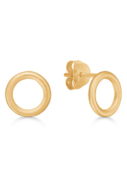 Riva ear stud gold-plated