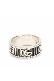 Pre-owned Sterling Silver Doubel G Ring