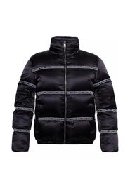 Down jacket with classic collar