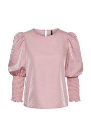 Vmdina Top With Smock Exp Bluse