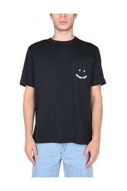 HAPPY T-SHIRT WITH POCKET