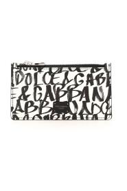 Monogram-print wallet