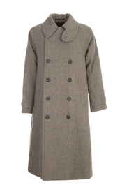 LINEN OVERSIZED DOUBLE BREASTED COAT