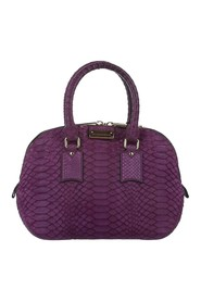 Small Orchard Python Leather Satchel