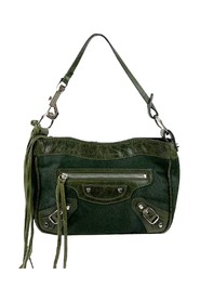 Pony Hair Motocross Top Handle Mini Bag