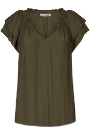 Sunrise top dark army - Co'couture