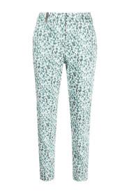 Abstract print pants