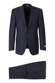 Regular Fit Striped Suit