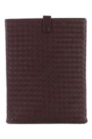 pre-owned Intrecciato Leather iPad Case