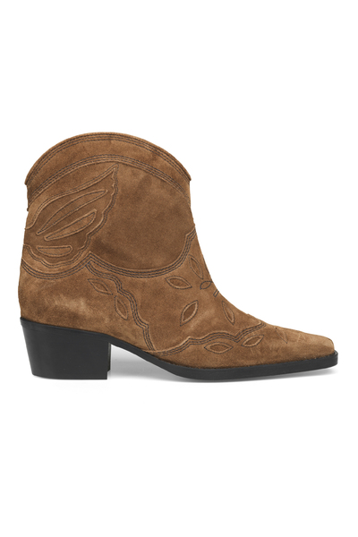 640b51a5d1b0 Brown Low Texas Ankle Boots Sko