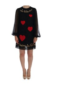 San Valentino Sequined Shift Dress