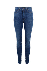 Blå Levis Mile high skinny Bukse