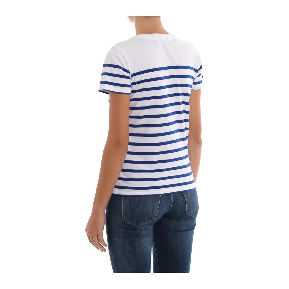 white/ blue T-shirt 211754351   Polo Ralph Lauren   T-shirty - Najnowsza zniżka V8evL