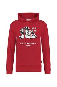 PUREWHITE HOODIE MONOPOLY RED