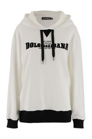 Sweatshirt in cotton jersey