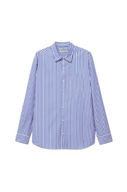 Relaxed-fit striped shirt