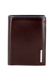 Square wallet with removable RFID ID holder