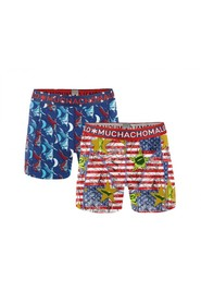 1010sinax04  Boxers Muchachomalo/rood