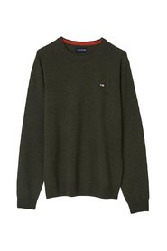Hank Blend Crew Neck Sweater Sweaters
