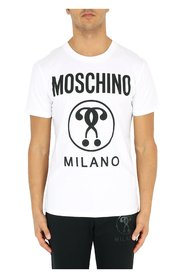 Short sleeve T-shirt with printed logo
