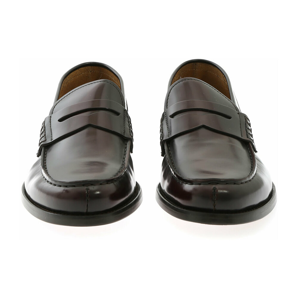 Brown PENNY LOAFER HORSE | Doucals | Loafers | Men's shoes
