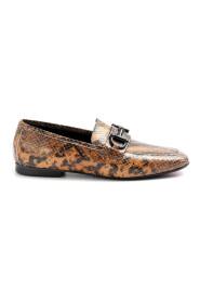 Flade sko Læder